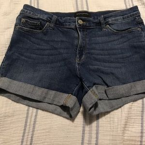 Banana Republic cuffed jean shorts